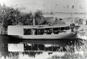 Dampbåten Alma i Vetlandselven